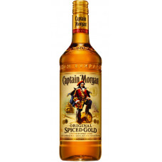 Rum Captain Morgan Spiced Gold 35% 1l /Jamajka/