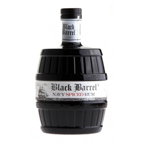 Rum A.H.RIISE Black Barrel 40% 0,7l
